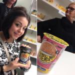 Angela ed Enza con due dei nuovi prodotti Saikebon